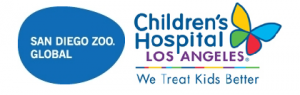 SDZG and Children's Hospital LA logos