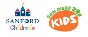 Sanford & SDZKids logos