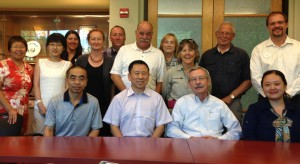 A delegation from the Sichuan Forestry Administration and China Wildlife Conservation Association met with members of our staff.