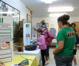 """Special displays allow curious visitors to understand the """"why"""" and """"how"""" of the program."""