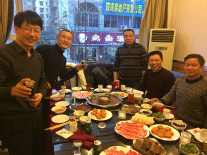 We celebrated our reunion with traditional Sichuan Hot Pot.