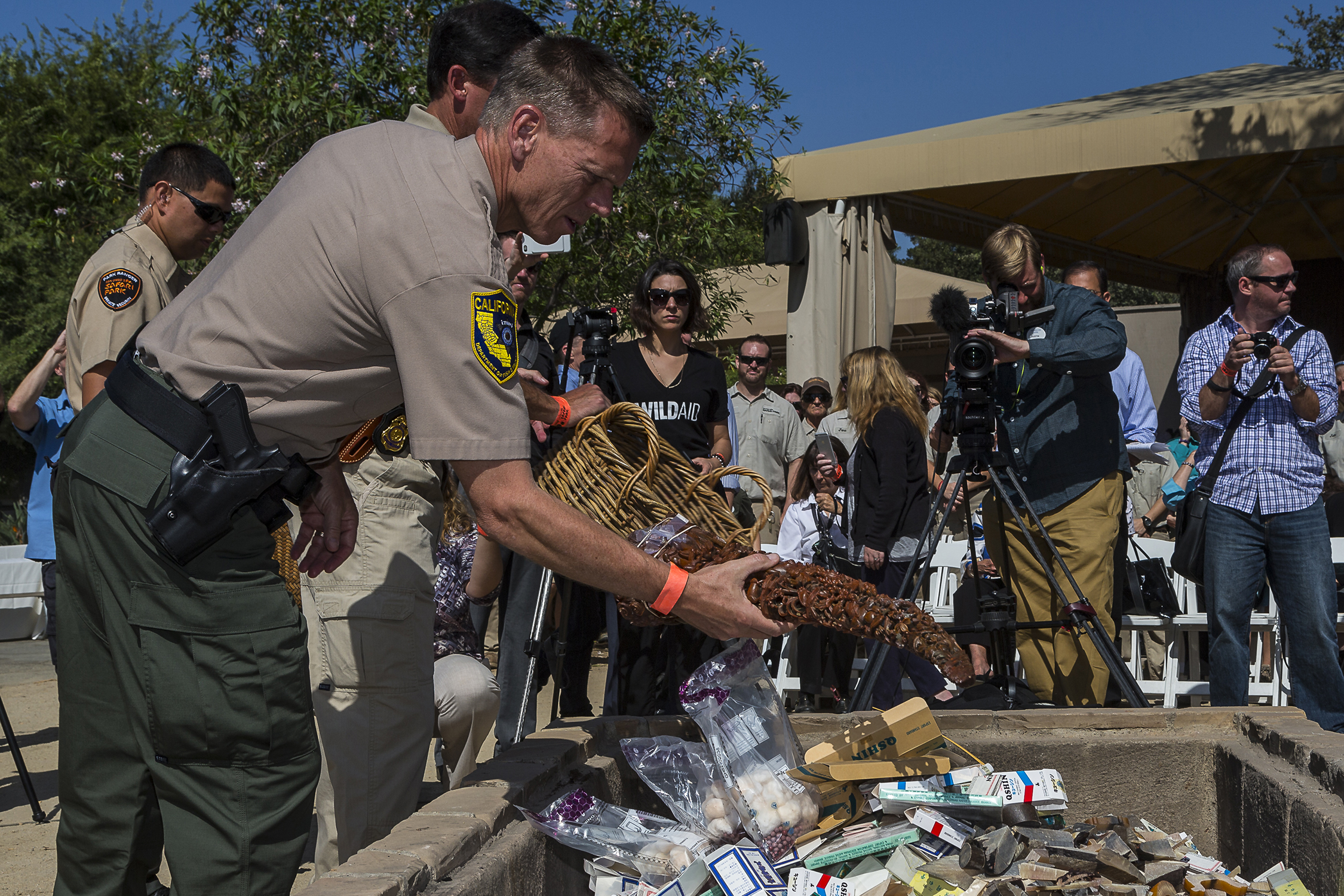 U.S. Rhino Horn Destruction Sends Global Message: Stop the Illegal Trade or Risk Losing the Rhino Forever