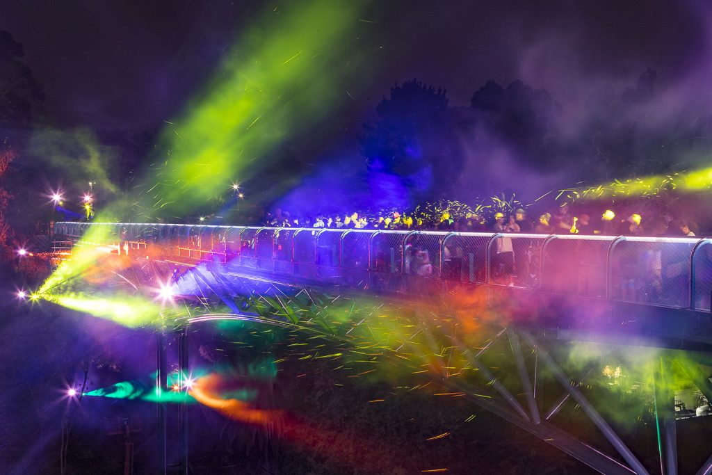end-of-summer bubble light spectacular – zoonooz